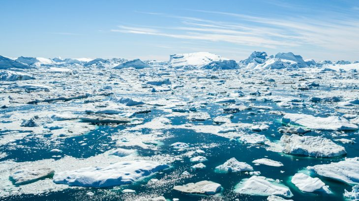 In an effort to predict how Greenland ice will respond to global warming, researchers at the University at Buffalo have used ocean sediments