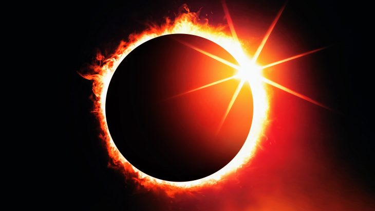 Tomorrow morning, a ring of fire eclipse will put on a dazzling show across Earth's northern regions, including Russia and Canada.
