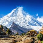 On February 7, 2021 about 27 million metric tons of rock and ice fell from the flank of Ronti Peak in the Chamoli District of the Uttarakhand region in India