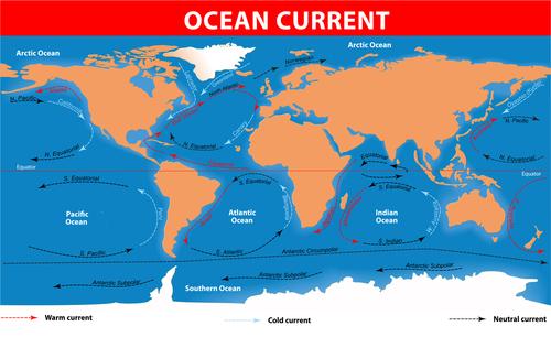 ocean currents around the world