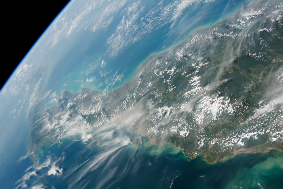 This region of Thailand and Malaysia is difficult to capture from space due to persistent clouds.