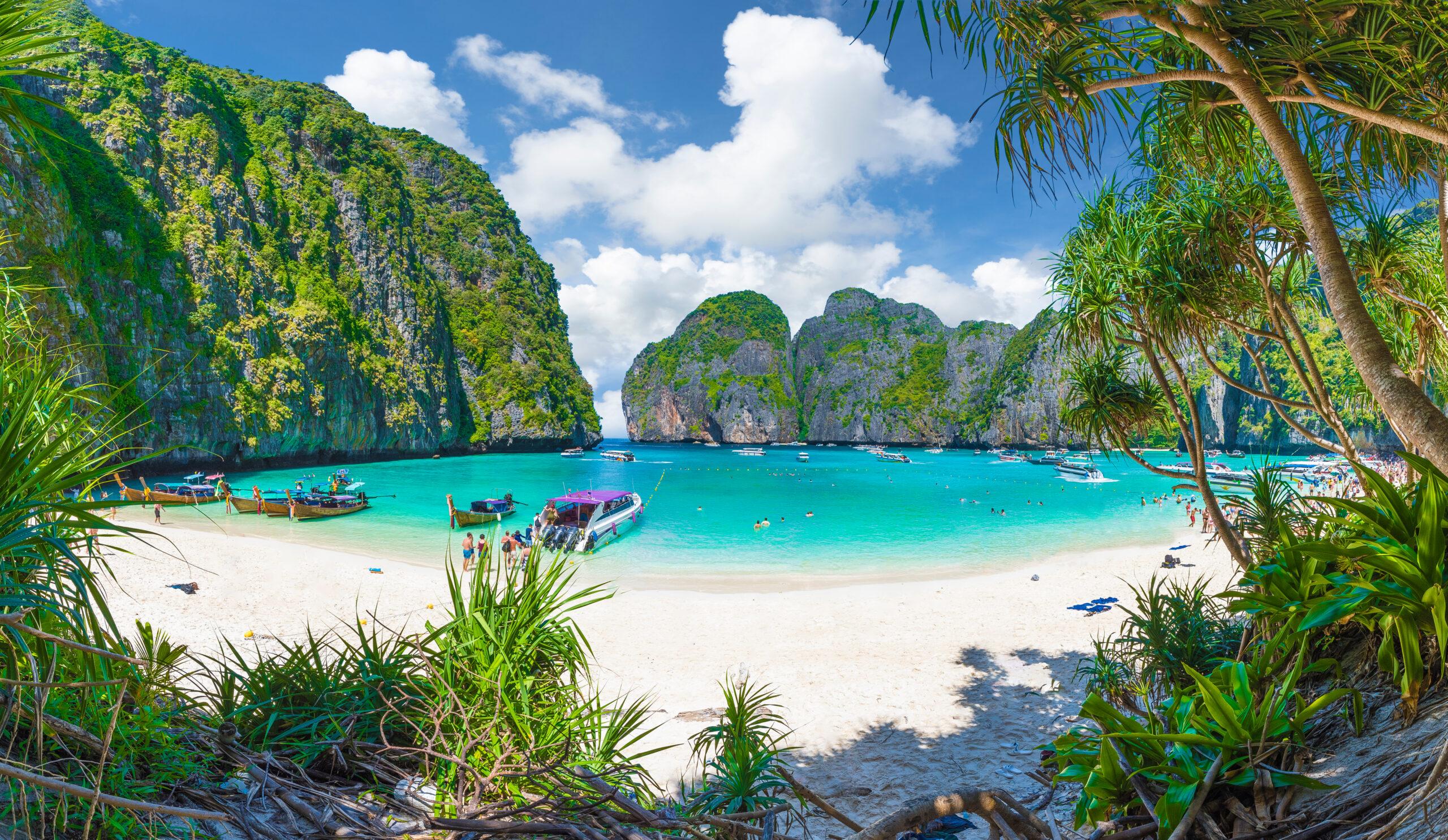 Maya Bay Phi Phi Islands, Thailand