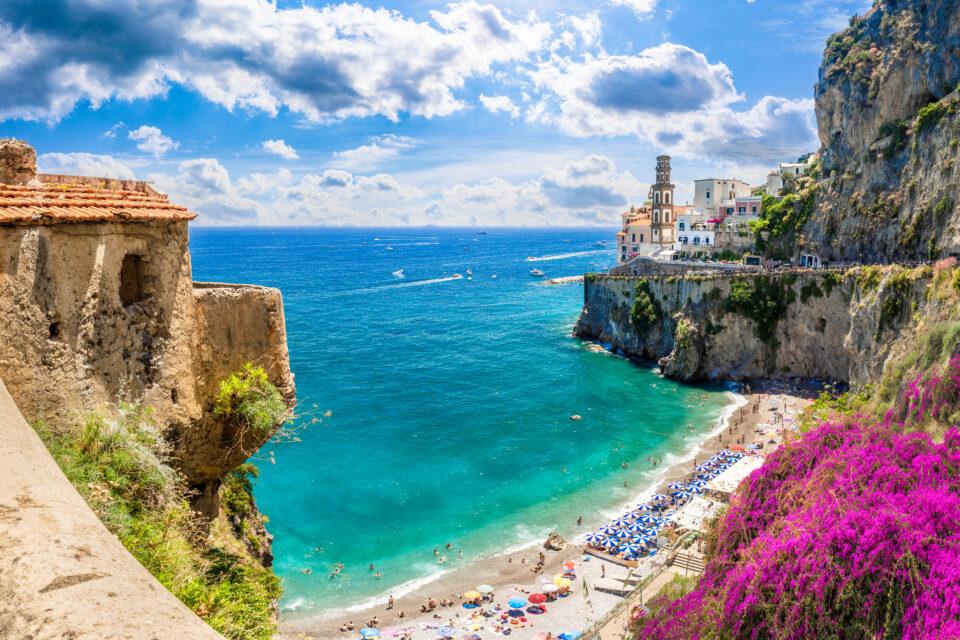 Castiglione di Ravello Beach Amalfi Coast, Italy
