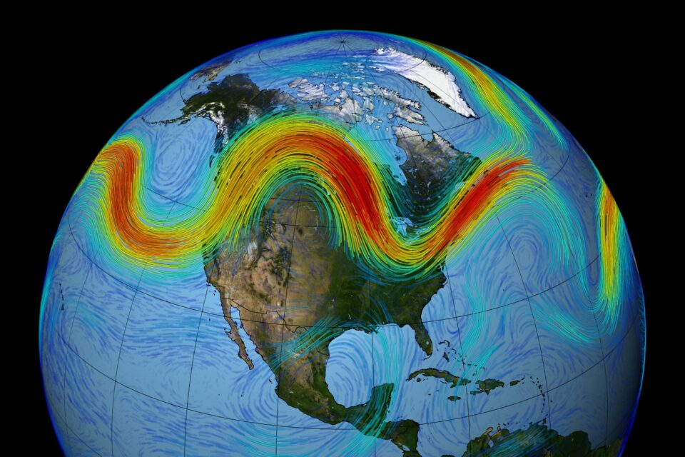 the North Atlantic jet stream - a band of strong, westerly winds encircling the Arctic – could migrate north by 2060 due to climate change
