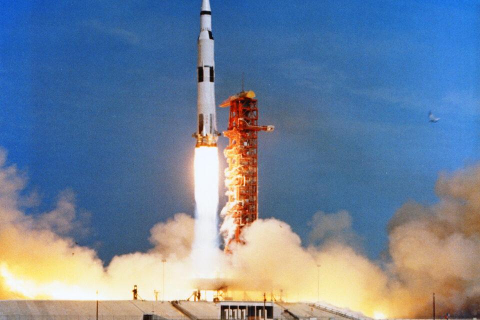 Apollo 11 liftoff - July 16, 196
