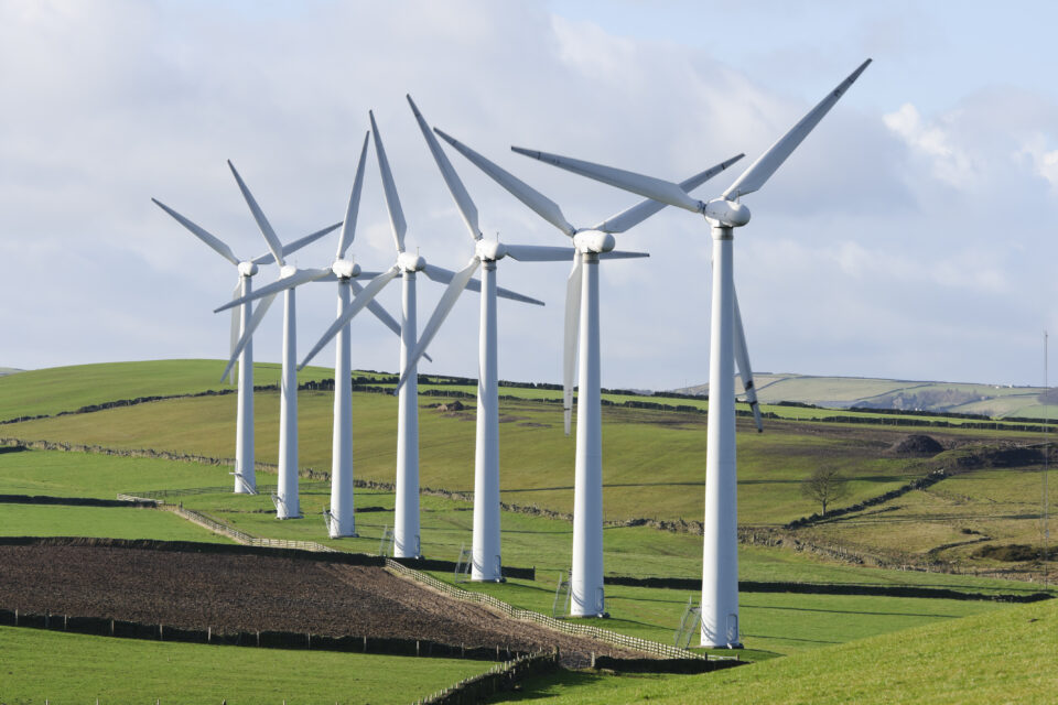 One potential strategy is to replace greenhouse gas usage with energy produced by wind farms, a solution that a new study is rigorously assessing.
